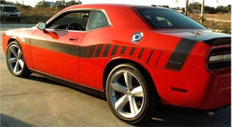 Dodge Challenger Parts And Accessories Store Vinyl