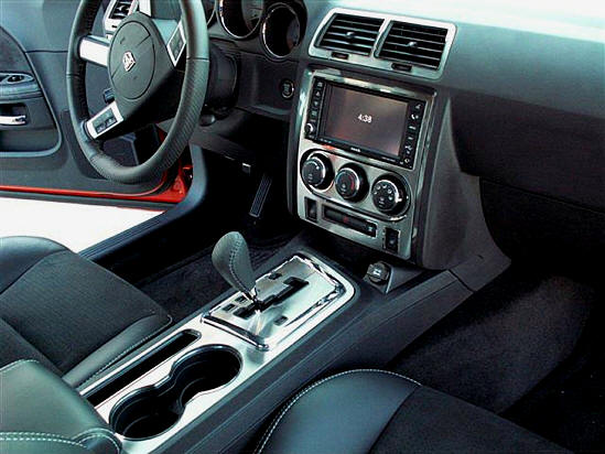 Dodge challenger 2008 14 high polished ss center dash - 2008 dodge charger interior trim ...