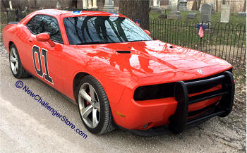 dodge challenger push bar parts and accessories products 2012 Dodge Challenger Rear Bumper original the general lee above for reference photo only new style below