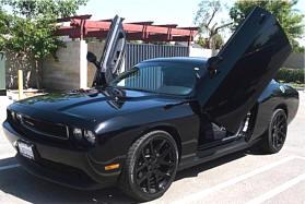 & Dodge Challenger Parts and Accessories Store Vertical Doors Lambo Doors