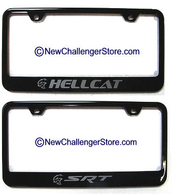 Dodge Challenger Parts and Accessories Store License Plate frames