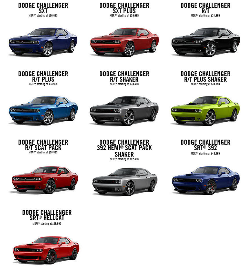 2014 Dodge Challenger Srt8 392 Colors Autos Post